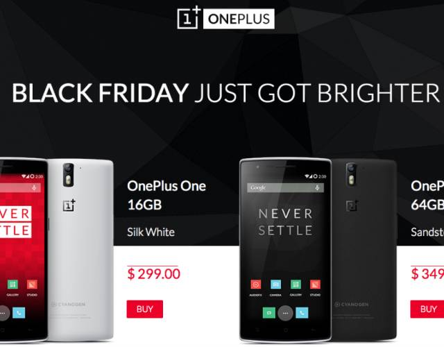 Check Out The Awesome Android Surprise Oneplus Has Prepared For Black Friday Bgr