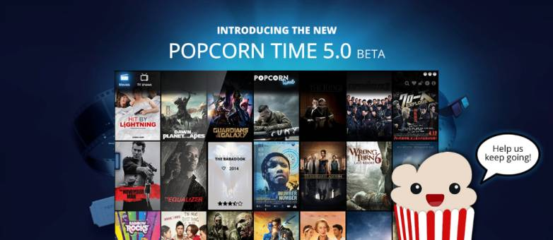 Popcorn Time Beta 5.0 Download