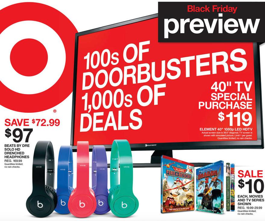 Target Black Friday 2014 Full Ad