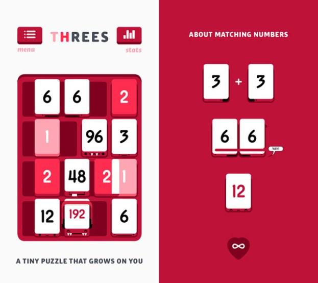Threes iOS