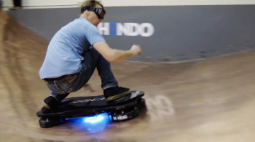 Tony Hawk Hoverboard Video