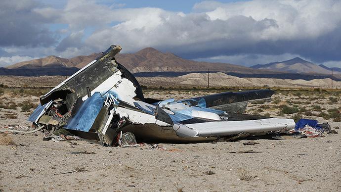 Virgin Galactic Crash Pilot
