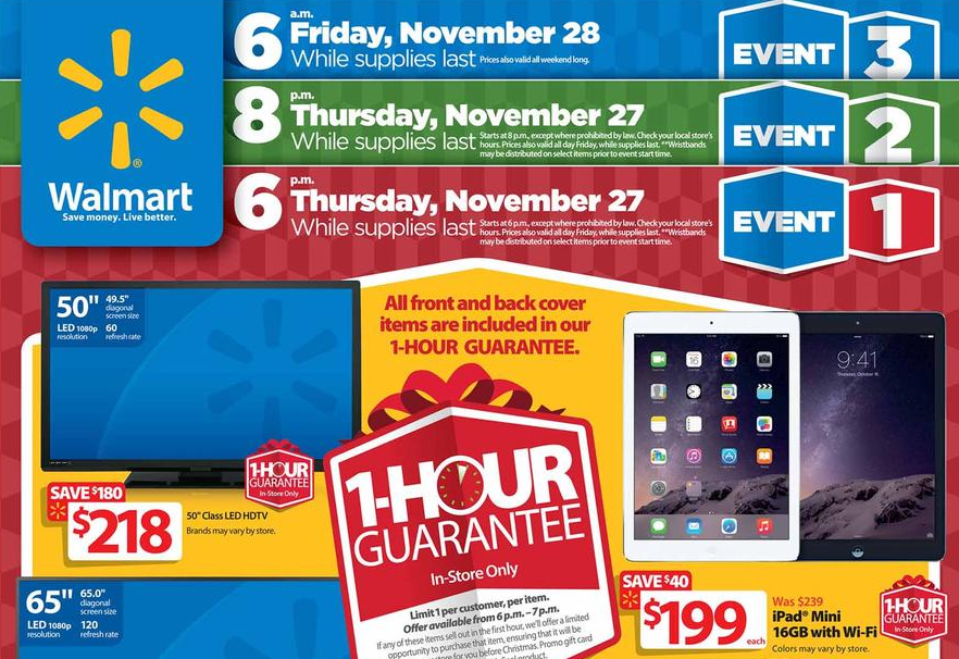 walmart black friday sales paper Walmart ad black friday sale 2017 is currently valid browse latest deals on the flyers of the store, see rollback savings, occasional sales.