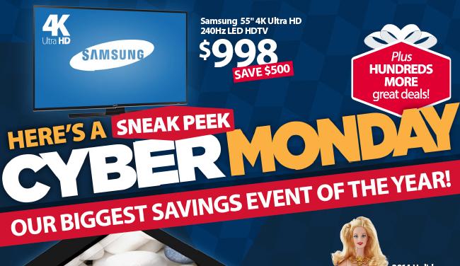 Walmart Cyber Monday 2014 Ad