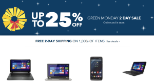 Best Buy Green Monday Sale