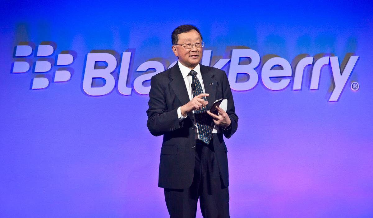 BlackBerry CEO Chen Net Neutrality