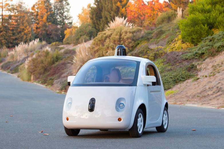 Google Driverless Cars Airbags Patent