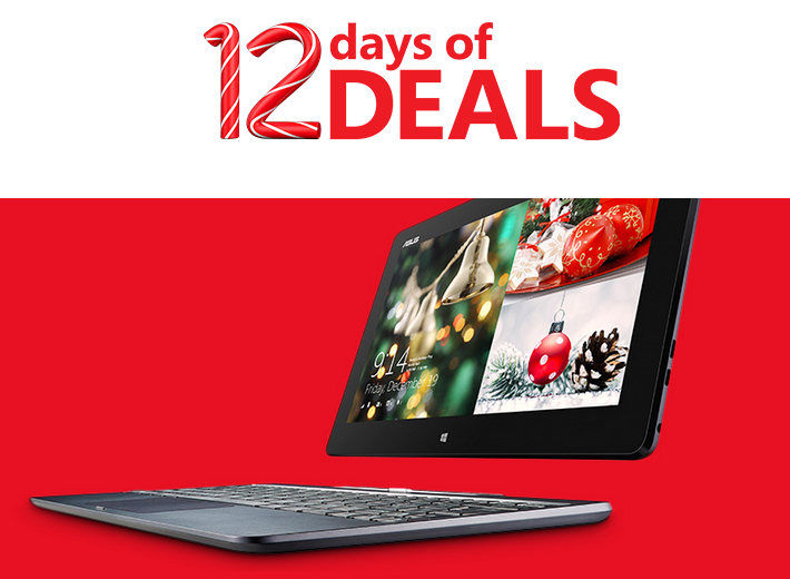 Microsoft 12 Days of Deals Asus Tablet