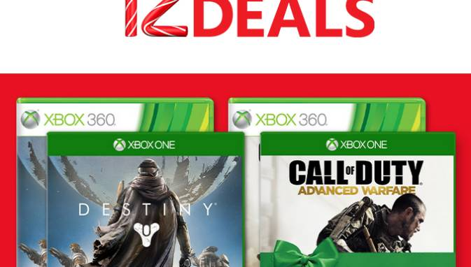 Microsoft 12 Days of Deals Destiny and Call of Duty