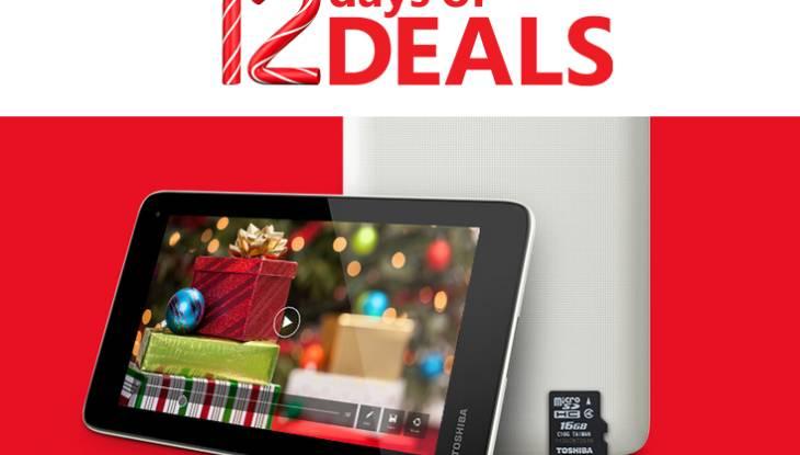 Microsoft 12 Days of Deals Toshiba Encore Mini