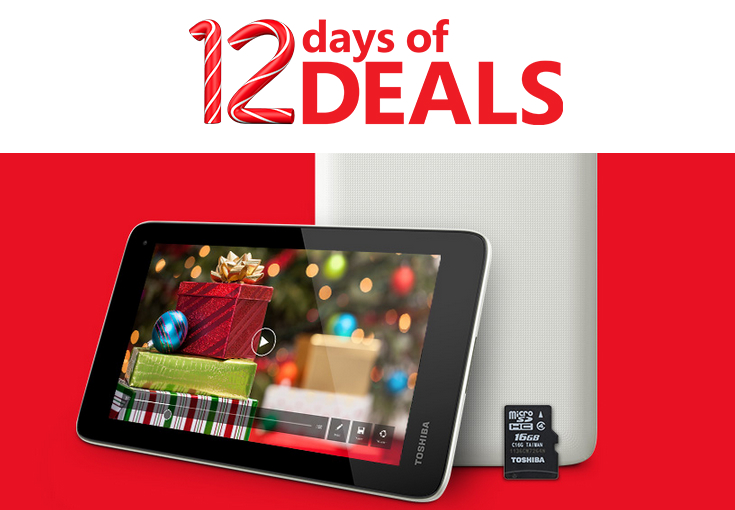 Microsoft 12 Days of Deals Toshiba Encore Mini