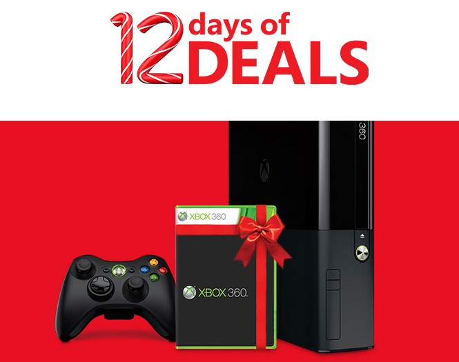 Microsoft 12 Days of Deals Xbox 360