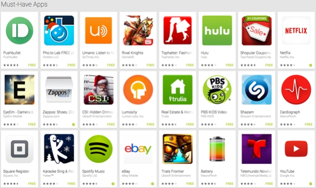 needed apps for android