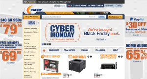 Newegg Cyber Monday Deals