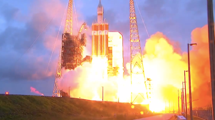 NASA Orion Launch Video