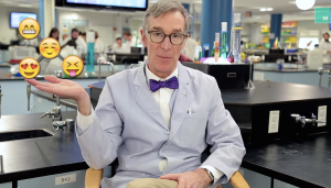 Bill Nye Emoji Evolution Video