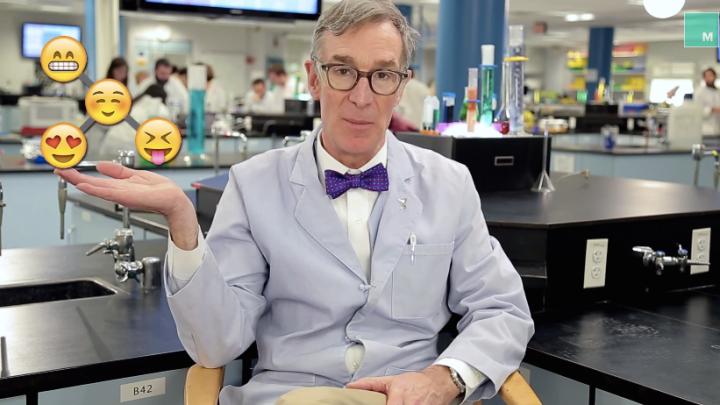 Bill Nye Emoji Evolution Video