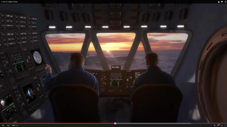 NASA Venus Atmosphere Project
