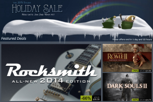 Steam Holiday Sale 2014