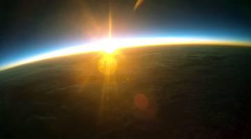 Sunrise In Space