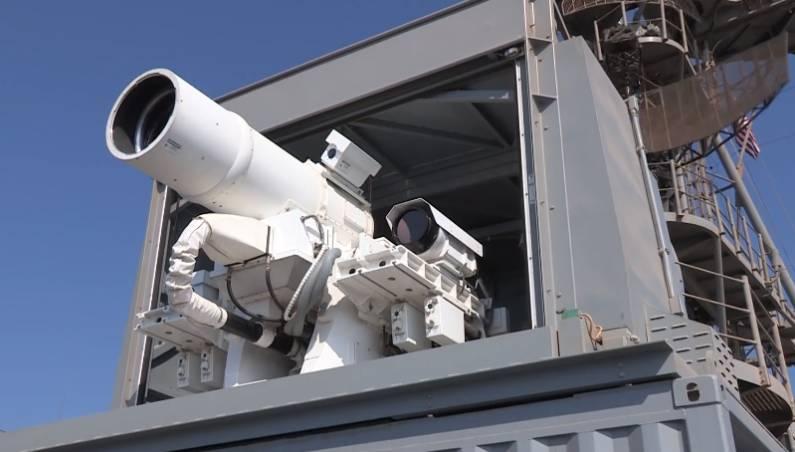 U.S. Navy Laser Canon Video