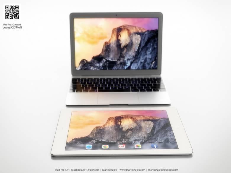 12-inch MacBook Air vs iPad Pro