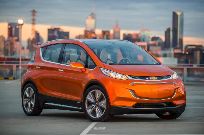 Chevrolet Bolt EV Concept Announcement