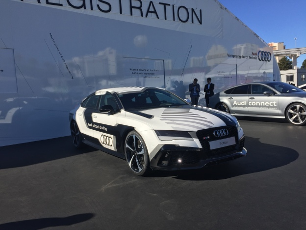 ces 2015 top 25 cars spotted at the las vegas tech event. Black Bedroom Furniture Sets. Home Design Ideas