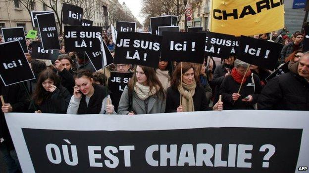 Charlie Hebdo Attacks in France