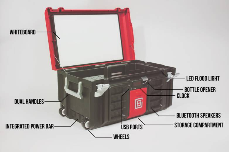 Indiegogo Coolbox Smart Toolbox