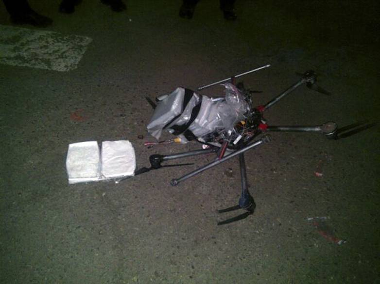 Crashed Drone: Crystal Meth