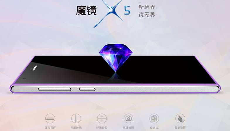 Smartphones with Sapphire Glass