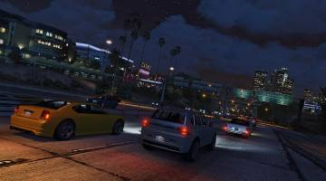 Grand Theft Auto V Driverless cars