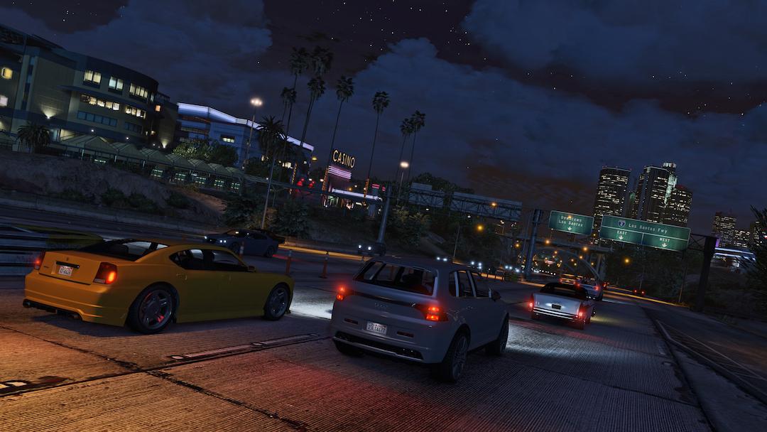Grand Theft Auto V Driverless cars