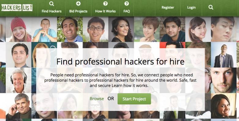 Hacker's List - How to Hire a Hacker Online