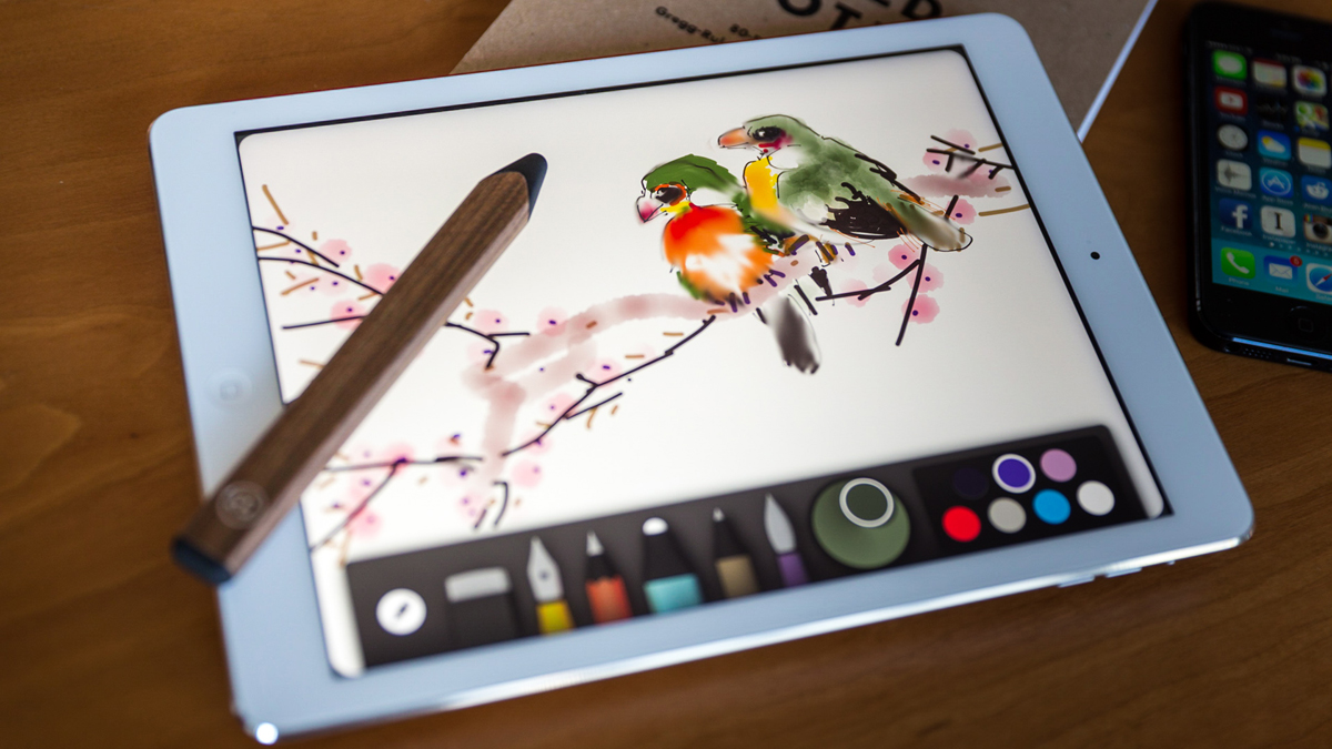 ipad drawing app Adobe illustrator line combines organic drawing with beautiful straight lines and perfect shapes that you can draw in plan and elevation views or in perspective.