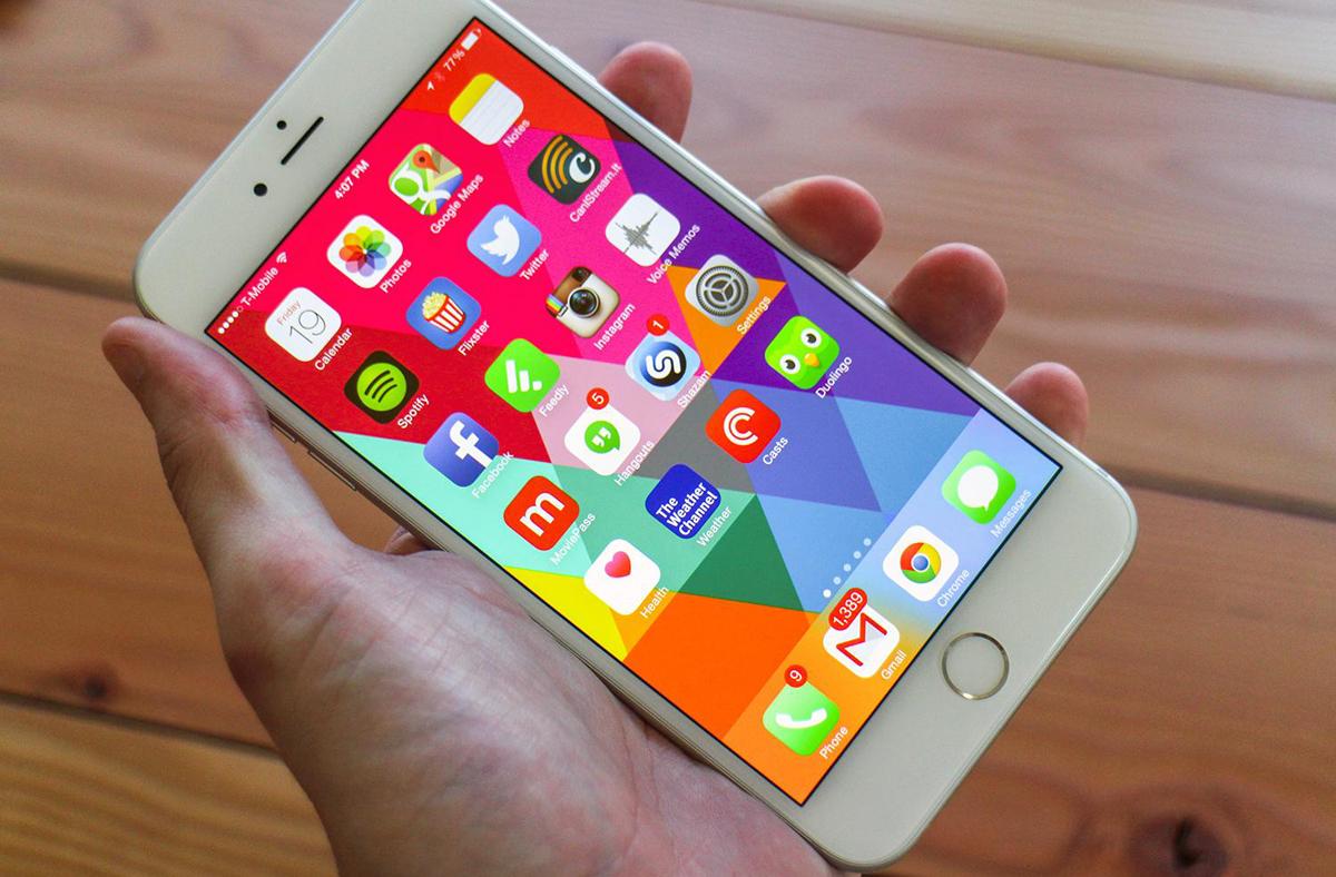 Apple iPhone 6s Shipments
