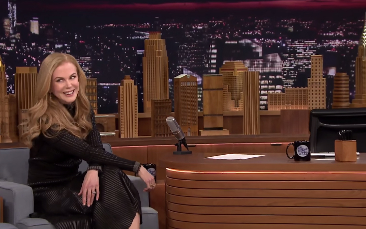 Jimmy Fallon and Nicole Kidman Funny Date Video