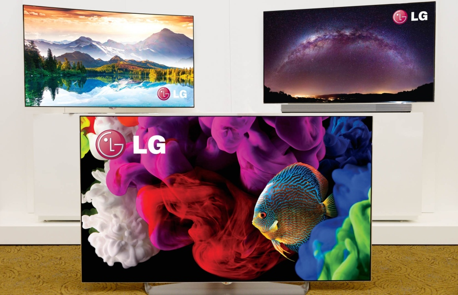 LG 4K TV at CES 2015