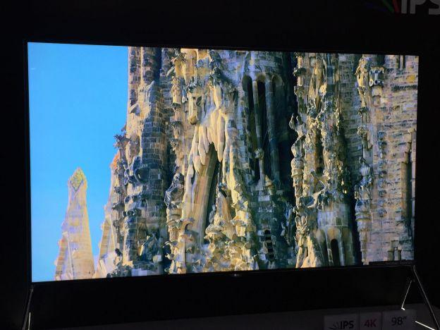 أكبر 5 شاشات 4K خلال معرض CES 2015 2