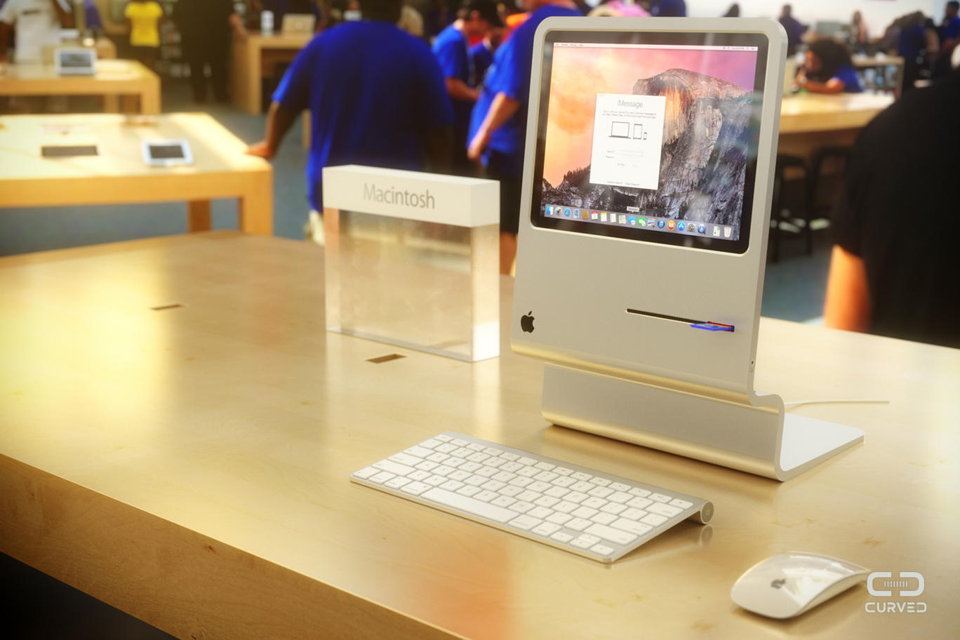 Apple Concepts 2015 Apple Macintosh Imac Concept
