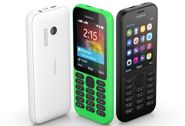 Microsoft Nokia 215 Revealed