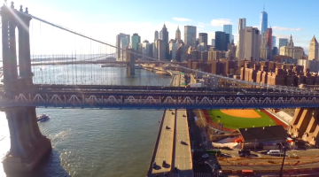 New York Tribute Video Aerial Drones