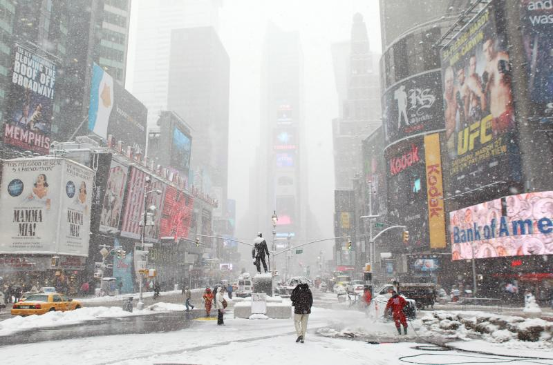Blizzard Forecast New York