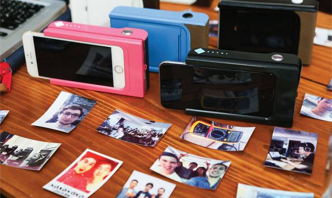 iPhone Photo Printer Case