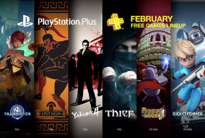 PS4 PS3 Vita Free Games