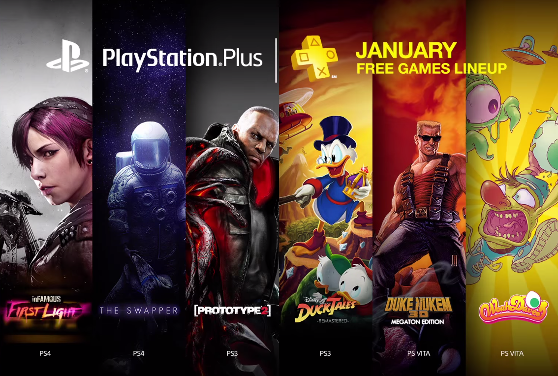 Games That Come With The Ps4 : Sony reveals the free playstation games it s giving away