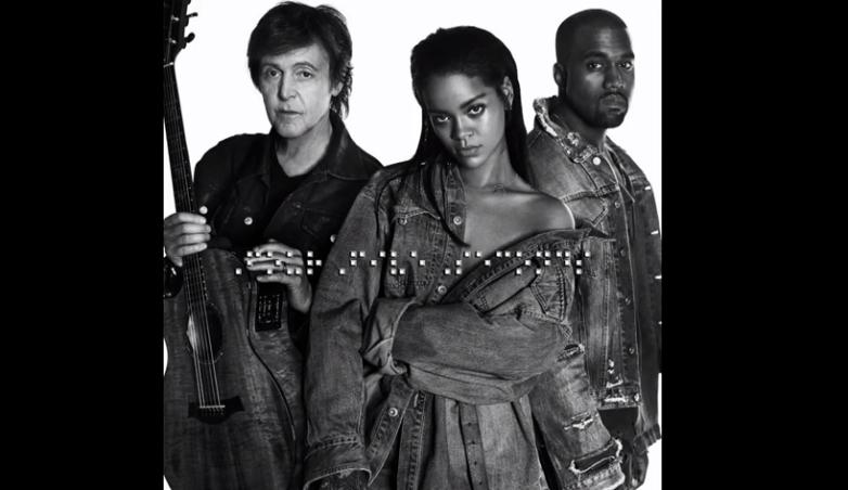 Paul McCartney, Kanye West, Rihanna New Single