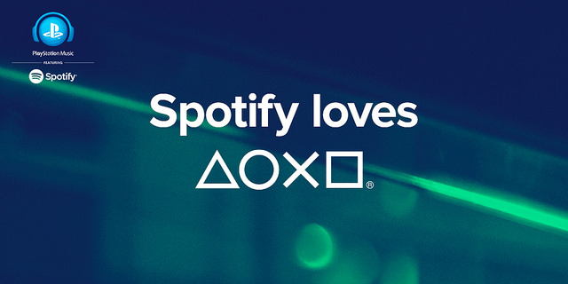 Spotify on PS4
