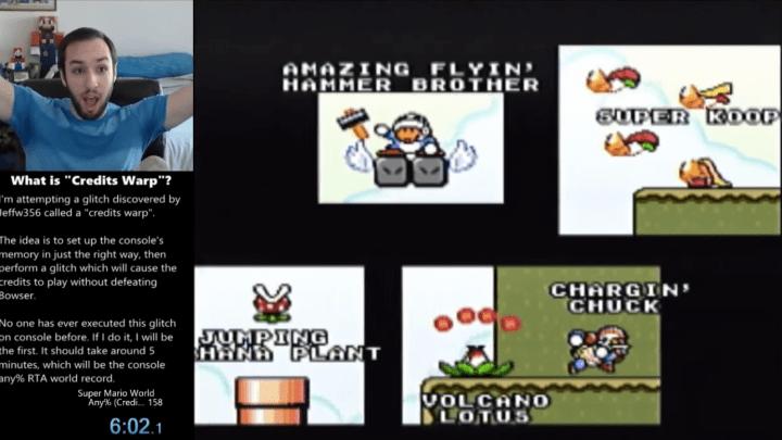 Super Mario World World Record